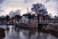 Amsterdam bridge Royalty Free Stock Photography