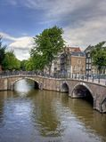 Amsterdam Bridges Royalty Free Stock Photo