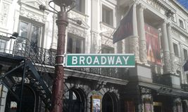 Amsterdam Broadway Royalty Free Stock Photography