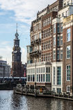 Amsterdam budynki Obrazy Stock