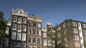 Free Amsterdam Building Reflections Stock Photography - 743182