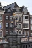 Amsterdam buildings and bridges Royalty Free Stock Photography
