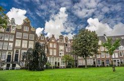 Amsterdam byggnader Royaltyfri Bild