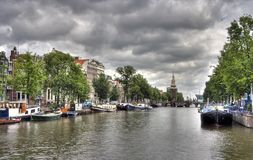 Free Amsterdam Canal Royalty Free Stock Photo - 16426485