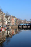 Amsterdam Canal Stock Photography