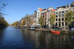 Amsterdam Canal Royalty Free Stock Photos