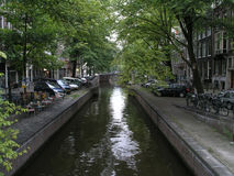 Amsterdam canal Royalty Free Stock Photo