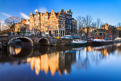 Amsterdam Canal Stock Images