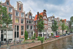 Amsterdam. Canal Brouwersgraht Royalty Free Stock Photo