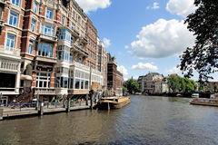 Amsterdam Canal , Holland Stock Photo