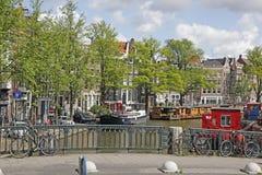 Amsterdam Canal , Holland Stock Photos