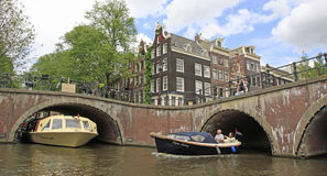 Amsterdam Canal , Holland Royalty Free Stock Image