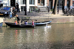 Amsterdam Canal , Holland Stock Images