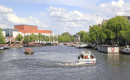 Amsterdam Canal , Holland Stock Photography