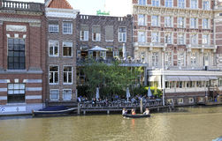 Amsterdam Canal , Holland Royalty Free Stock Photos