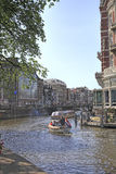 Amsterdam Canal , Holland Royalty Free Stock Photo