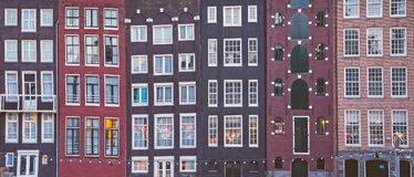 Free Amsterdam Canal Houses Royalty Free Stock Photos - 118333438