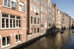 Amsterdam Canal Houses Stock Image