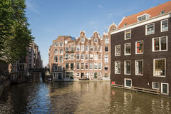Amsterdam Canal Houses Royalty Free Stock Image