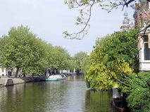 Amsterdam Canal 2003 Royalty Free Stock Image