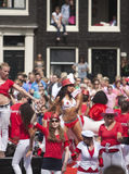 Amsterdam Canal Parade  2011 Stock Photo