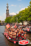 Amsterdam Canal Parade 2012 Stock Photo