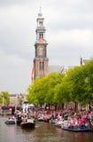 Amsterdam Canal Parade 2012 Stock Photos