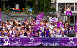 Amsterdam Canal Parade 2014 Stock Photography