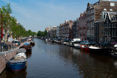 Amsterdam canal Stock Image