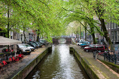 Amsterdam canal Royalty Free Stock Images
