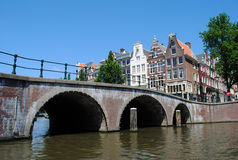 Amsterdam canals Royalty Free Stock Photos