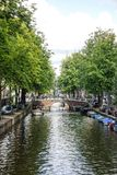 Amsterdam Canals, Holland Stock Image