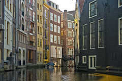 Amsterdam canals, Netherlands Royalty Free Stock Photos