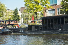 Amsterdam canals, Netherlands Royalty Free Stock Image