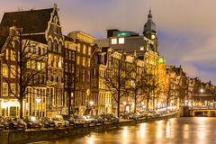 Amsterdam Canals Netherlands Royalty Free Stock Photo
