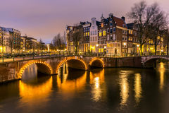 Amsterdam Canals Netherlands Royalty Free Stock Image
