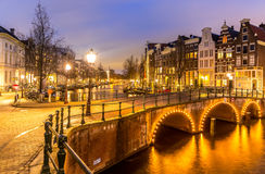 Amsterdam Canals Netherlands Stock Photos