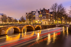 Amsterdam Canals Netherlands Royalty Free Stock Photos