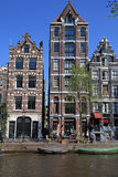 Amsterdam canals and typical dutch houses, Amsterdam, Holland Stock Image
