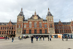 Amsterdam Centraal Zdjęcia Stock