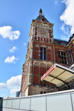 Amsterdam Centraal in Netherlands Stock Photography