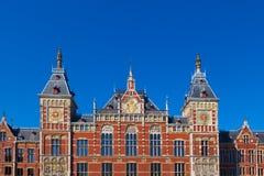 Amsterdam Centraal, Paesi Bassi immagini stock