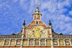 Amsterdam Centraal Station Royalty Free Stock Photography