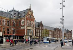Amsterdam Centraal Station Royalty Free Stock Image
