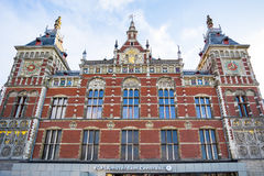 Amsterdam Centraal train station in Amsterdam, Netherlands. Stock Photos