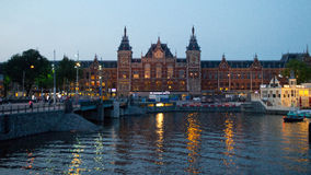 Free Amsterdam Centrail Railway Station Royalty Free Stock Image - 43652126