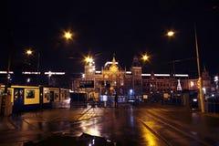 amsterdam central netherlands station Στοκ Φωτογραφία