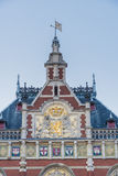 Amsterdam central railway station in Netherlands. Stock Photo