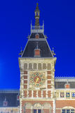 Amsterdam central railway station in Netherlands. Stock Image