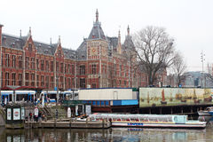 Amsterdam Central Station Centraal Station Royalty Free Stock Images